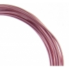 Aluminum Wire 12ga (2.5mm) 30ft Round Rose